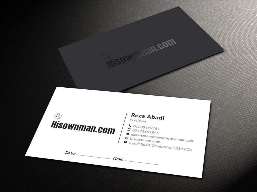 Конкурсная заявка №85 для Business Card