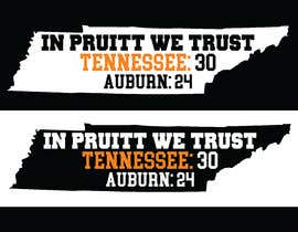 #3 for Tennessee Football Tee Shirt Design by rony333