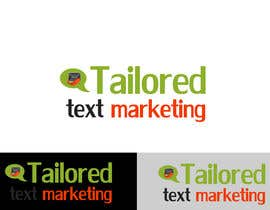 #145 para Logo Design for Tailored text marketing por hirusanth