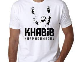 #9 for T-shirt design - Khabib UFC -- 10/14/2018 9:19:29 am by Ameyela1122