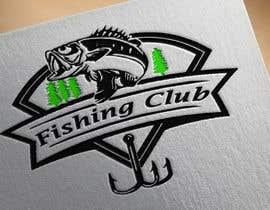 Nro 19 kilpailuun Fishing club logo käyttäjältä nayeema242