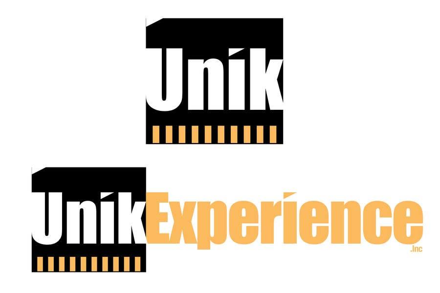 Kilpailutyö #                                        23                                      kilpailussa                                         Logo Design for Unik Experience
