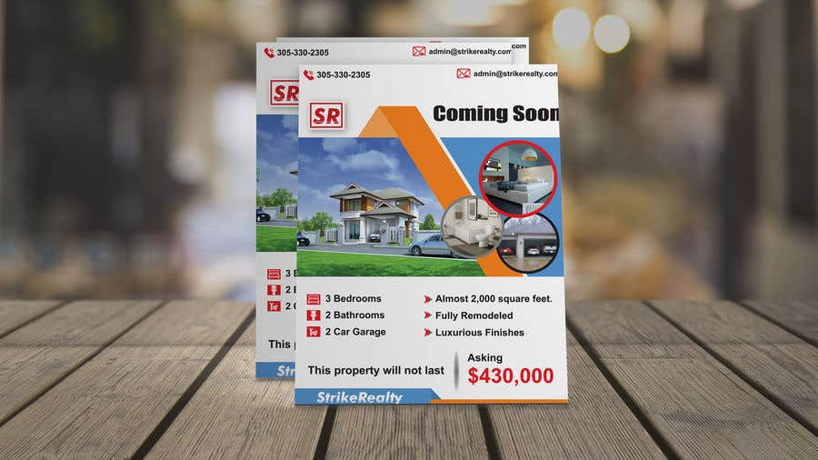 36e998540c Entry #53 by rajufarajee for Coming Soon Flyer | Freelancer
