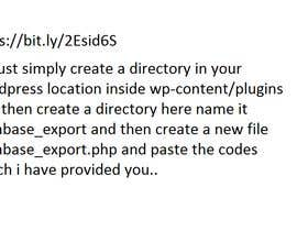 anwarsolangi tarafından Wordpress sync to database için no 5