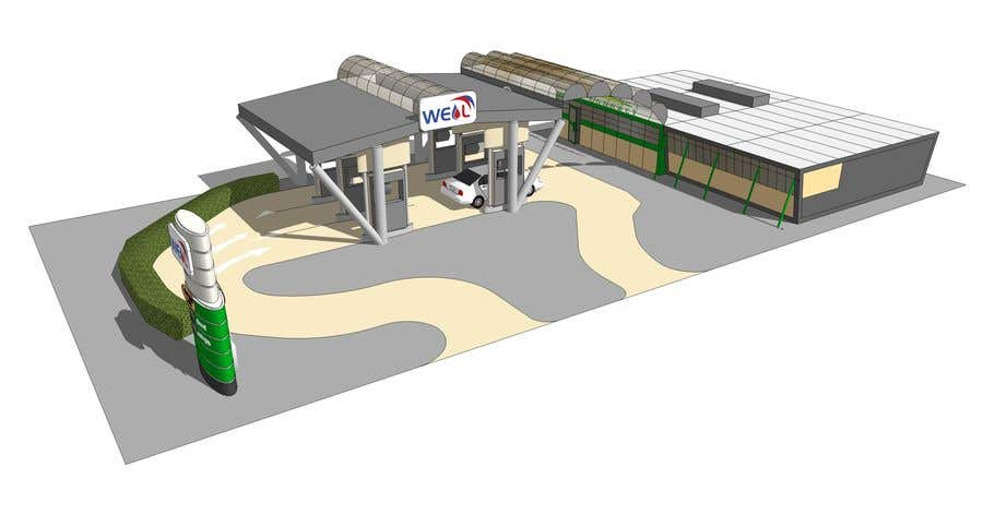 Entry 26 By Dodyardiansyah For Design Gas Station Building