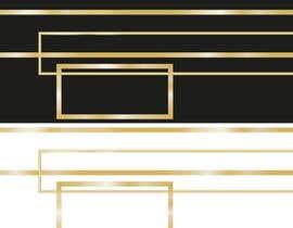 #3 for Design UI Golden borders in Illustrator (vector) af andreolwage