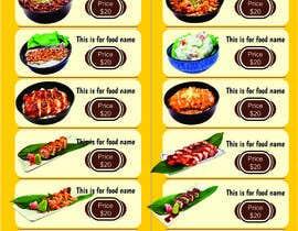 #25 para Create a food flyer de XD12jalandhar