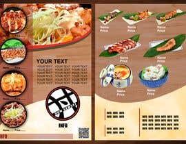 #29 para Create a food flyer de AsterAran28