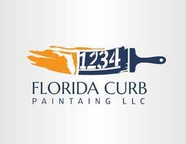 #47 untuk Design a logo for Florida Curb Painting oleh nouragaber