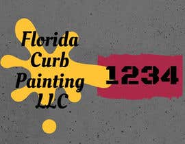 #91 for Design a logo for Florida Curb Painting by shahieranur1