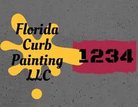 #91 untuk Design a logo for Florida Curb Painting oleh shahieranur1
