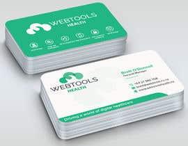 #833 untuk Business Card Design - Webtools Health oleh sabbir2018
