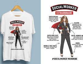 Nro 21 kilpailuun Graphic Designer for Tee Shirt käyttäjältä Attebasile