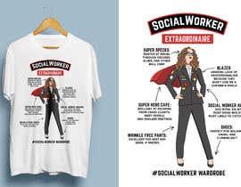 Nro 25 kilpailuun Graphic Designer for Tee Shirt käyttäjältä Attebasile