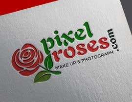 #1577 for Logo design - pixelroses.com by Toy05