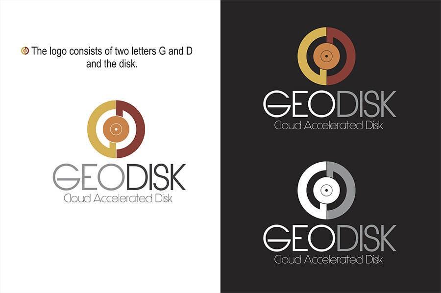 Proposition n°120 du concours Logo Design for GeoDisk.org