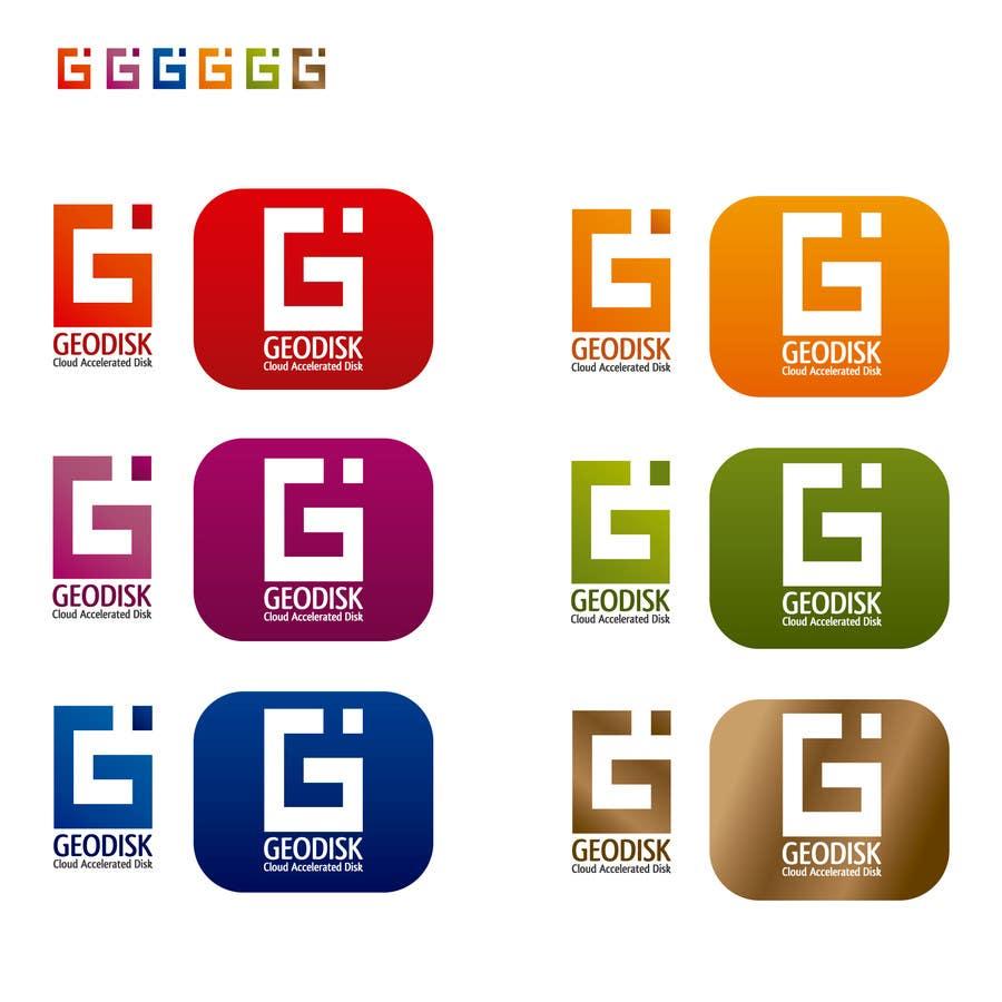 Proposition n°211 du concours Logo Design for GeoDisk.org