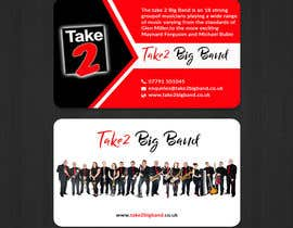 #90 для Design a business card for a Big Band від pritishsarker