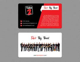 #128 для Design a business card for a Big Band від zahidulrabby