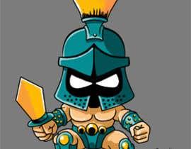 #33 for Design a digital gladiator (Warrior) character by ecomoglio