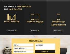 #14 para Basic Landing Page Design Needed - Hair Care Industry de gopi00712122