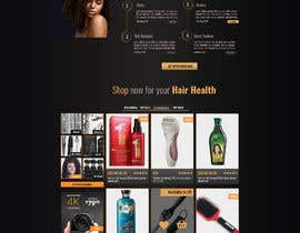 #11 para Basic Landing Page Design Needed - Hair Care Industry por webhubbd