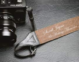 "#4 para I need my leather camera strap logo designed, I want it to say ""Sarah Jayne"" & also ""making memories"" two different fonts. por sabbir384903"