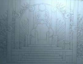 #13 para Design Concept art of  a Throne for a game por passionatearts