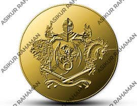#6 para Commemorative Coin Company Design de asik10