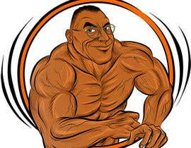#22 for Cartoonist Job for Funny Bodybuilder Drawings (CONTEST for selection) by samcomics