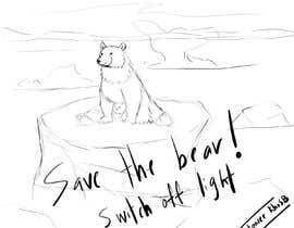 nº 23 pour Design cute polar bear for GOOD CAUSE saving energy awareness campaign par KhoSB
