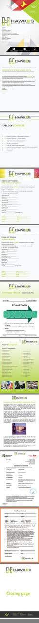 Kilpailutyön #11 pienoiskuva kilpailussa Tender Proposal / Brochure