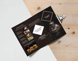 #41 for Tri fold menu for a coffee shop by samadmiad