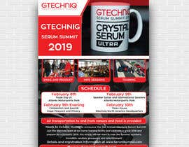 #95 for Design Gtechniq Serum Summit 2019 poster by tishaakter179