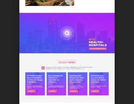 #8 for Create a Clean Homepage User Interface for Health Wesbsite by smjehad