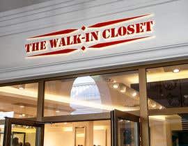 "#6 для Logo for a vintage, resale shop called, ""The Walk-in Closet."" от mrahman1997"