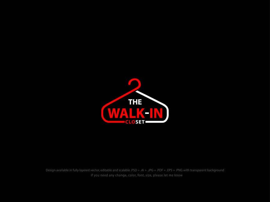 """Конкурсная заявка №125 для Logo for a vintage, resale shop called, """"The Walk-in Closet."""""""