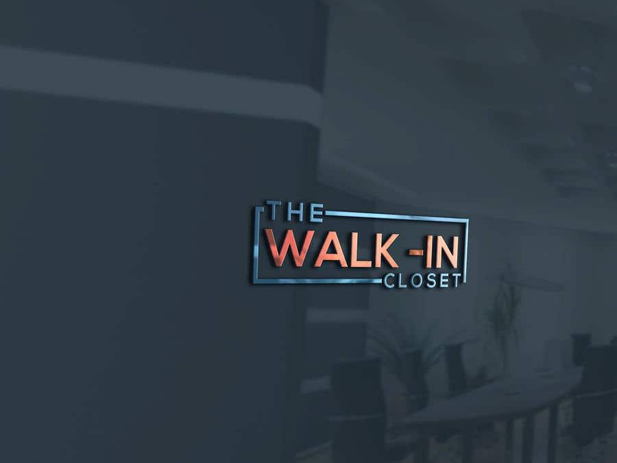 """Конкурсная заявка №113 для Logo for a vintage, resale shop called, """"The Walk-in Closet."""""""
