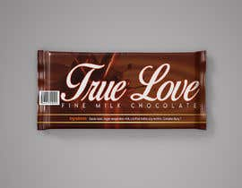 #77 para Need label for Chocolate Bar por aatir2