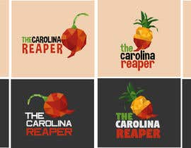 #20 for Bottle Label for a Pineapple Mango & Carolina Reaper Hot Sauce by istykristanto