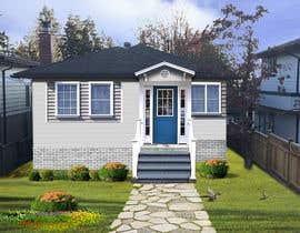 #20 pentru House Exterior Design / drawing - create a nicer entrance de către mermed