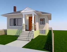 #38 pentru House Exterior Design / drawing - create a nicer entrance de către SolAero