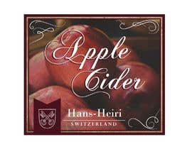 #8 para Create a label for a new apple cider beverage de lounzep
