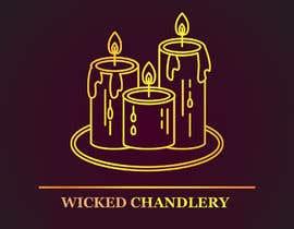 Nro 14 kilpailuun I would like a logo designed for a candle company called Wicked Chandlery.   -- 10/19/2018 15:12:07 käyttäjältä Insane99