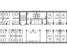 nº 9 pour Sketch to divide 865 square metres of office room! par swatibhingare