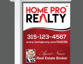 #24 for DESIGN A FOR SALE SIGN FOR A REAL ESTATE COMPANY by Manik012