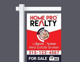 #64 for DESIGN A FOR SALE SIGN FOR A REAL ESTATE COMPANY by nayangazi987
