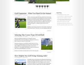 #1 para Wordpress Theme Design for AZGOLFCLUB.COM por kunalll