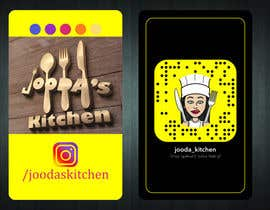 #43 for Business Cards for Jooda's Kitchen by davutgonen