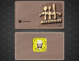 #45 for Business Cards for Jooda's Kitchen by shimulh
